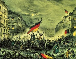 Maerz 1848 Revolution in Berlin