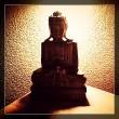Buddha im Schatten