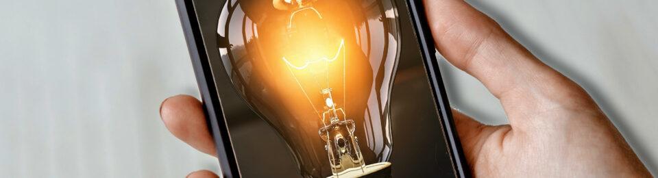 Energie-Idee-Smartphone